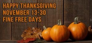 Fine Free Thanksgiving